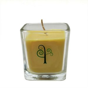 rain forest beeswax candle