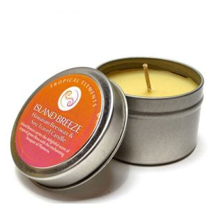 island breeze travel candle